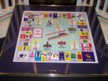 Framed Chicago Ave. nostalgia game board (Photo courtesy of Betti Marino-Wasek)