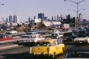 Even in 1967 traffic in Chicago was heavy at times (Photo courtesy of Jerry Kasper)