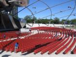Jay Pritzker Pavilion at Millenium Park in downtown Chicago. (Photo courtesy of Connie Straube)