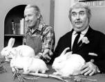 The Captain Kangaroo TV show ran from 1955 through 1986. Captain Kangaroo, aka Bob Keeshan, was the original Clarabell the Clown on the Howdy Doody Show. (Photo courtesy of Jerry Kasper)