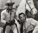 The Lone Ranger TV show aired from 1949 until 1957. (Photo courtesy of Jerry Kasper)