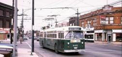 Route 53 bus at Pulaski & Grand in 1972 (Photo courtesy of Jerry Kasper)