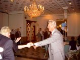 Tom Ryan dancing with his wife, Nadia (Photo courtesy of Joe DiCiolla)