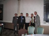 From left, Sal Buttadauro, Jim Sansone, Mike Fedanzo, Phil Abbinanti and Tom Ryan (Photo courtesy of Connie Straube)